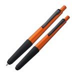 Kunststof pen met soft touch