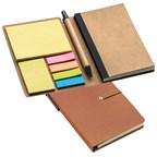 Notitieboekje met memoplakkers
