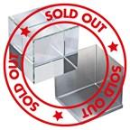 3D glazen kubus