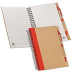 Notitieboekje met 140 gelinieerde velletjes