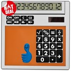 Calculator Own Design met inlegplaatje
