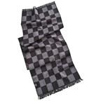 Sjaal met schaakspelmotief