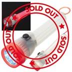 Kunststof zaklamp met een LED-licht