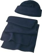 Muts en sjaal van fleece