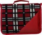 Fleece deken met draagband