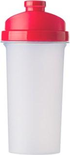 Kunststof eiwit shaker met zeef, 700 ml