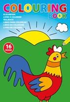 Kleurboek voor kinderen (A4 formaat)