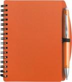 Notitieboekje (A6), incl plastic balpen