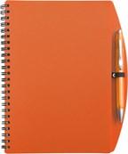 Notitieboekje (A5), incl plastic balpen