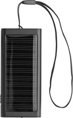 Aluminium oplader op zonne-energie
