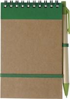 Notitieboekje 'ECO' met balpen