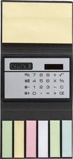Memoboekje met calculator