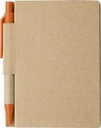 Notitieboekje met balpen