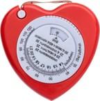 BMI meetlint in de vorm van een hart, ca 150 cm