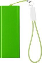 Powerbank met een Li-polymeer batterij 2000mAh