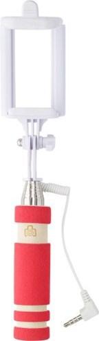Kunststof telescopische selfie stick met drukknop