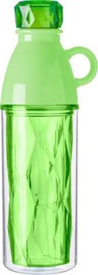 Kunststof dubbelwandige drinkfles (500 ml)