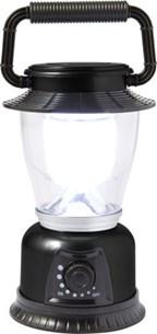 Kunststof campinglamp met LED