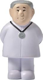 Anti-stress figuur 'dokter' van PU foam