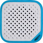 Kunststof mini speaker met batterij 150mA