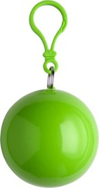 PVC poncho in een plastic bal met karabijnhaak