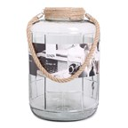 SENZA Glass Jar XL Transparant