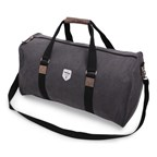 Vintage Canvas Weekendbag Grey