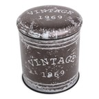 Multifunctional seatstorage barrel - Vintage design MEDIUM