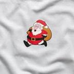 Kerstmis transfer REFLECTS-WALKING SANTA