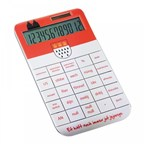 Calculator REFLECTS-SPECTACULATOR WHITE-incl all over print