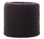 Polsband 6cm Zwart acc Zwart