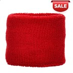Polsband 6cm Rood acc Rood