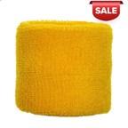 Polsband 6cm Geel acc Geel