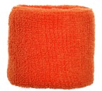 Polsband 6cm Oranje acc Oranje