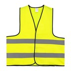 Veiligheidsvest Polyester XL Geel Per Stuk In Poly