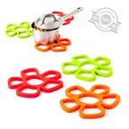 Trivet,Daisy,magnetic,silicone