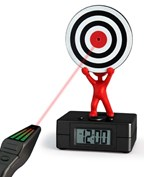 Alarmclock,Target,3xAA,3xAG13incl