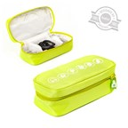 Cable organizer,green,polyester