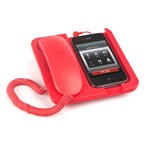 Mobile phone holder,Telephone,Pronto!,red