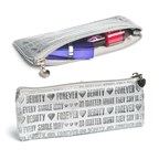 Pencil case,Beauty Forever,silver