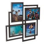 Frame,Mondrian,multiple,x4,black