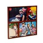 Frame,Mosaic,2x10x15+2x15x20,darkwalnut