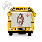 Frame,School Bus,13x18,display x6