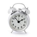 Alarmclock,TwinBell,chrome,1xAA,incl